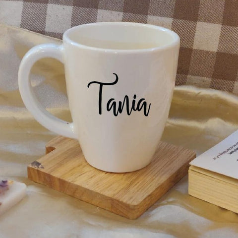 Unbreakable Mug with Customisable Name - Set of 1