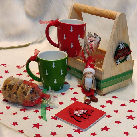 Christmas Goodies Gift Box with Caddy