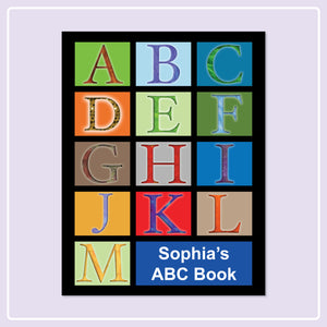 Learning the Alphabet is Easy with a Personalized ABC Book