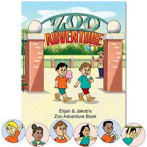 Personalized Children's Books for Kids about Zoo Adventures | First Time Books