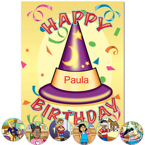 Personalized Happy Birthday Book for boys and girls | First Time Books