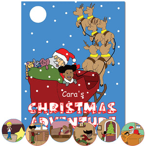 Personalized Christmas Adventure book | Great holiday book for boys and girls | First Time Books