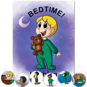 Personalized Bedtime book for boys and girls | Great bedtime book | First Time Books