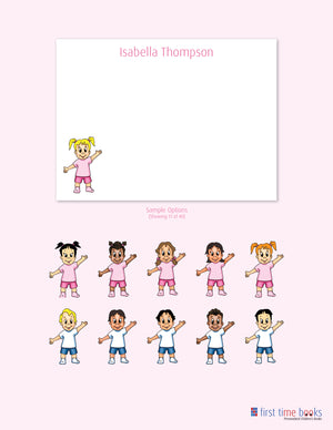 Personalized Note Cards for Girls