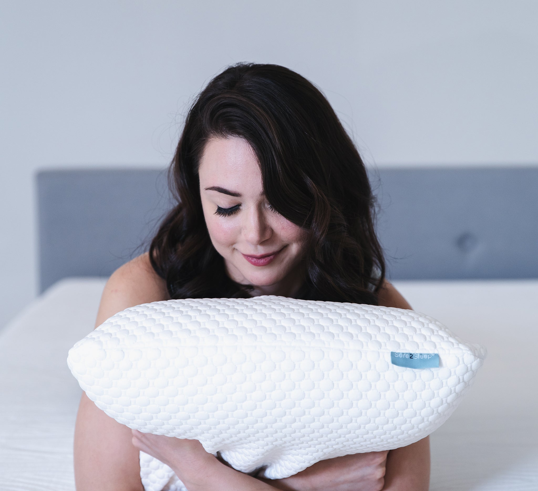 The Sure2Sleep Pillows (Twin pack)
