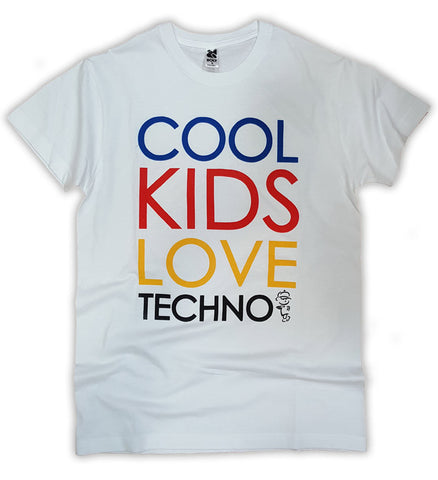 Cool Kids Love Techno T-Shirt for Adults