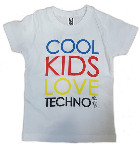 Cool Kids love Techno T-Shirt