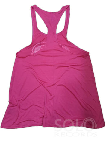 Ibiza Rocks Women's Oversized Baggy Top in Pink