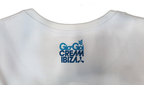 Gio Goi Cream Ibiza T-shirt