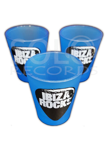 ibiza rocks shot glass
