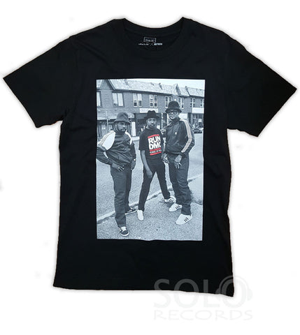 Run Dmc t-shirt street scene