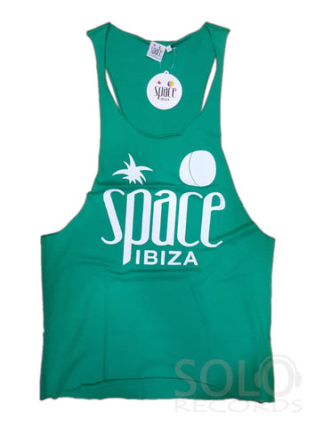 Mens Space Ibiza Gym Vest - Free 27th Anniversary shopping bag!
