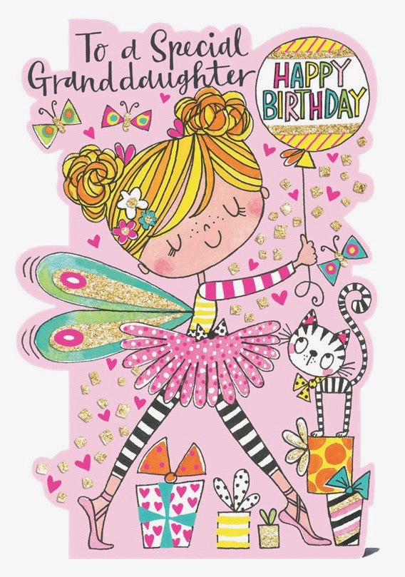 Ballerina Birthday Cards