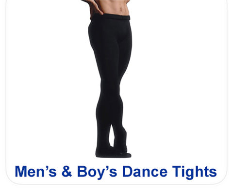 Mens Dance Tights, Boys Dance Tights