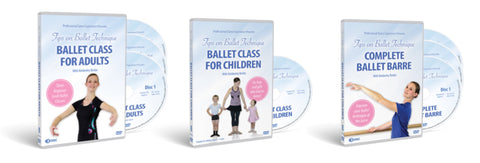 Tips On Ballet Technique DVDs
