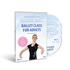 Ballet Class For Adults Beginner Level 3 DVD Disc Set