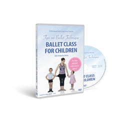 Ballet Class For Children DVD