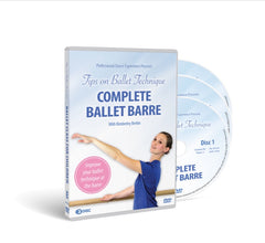 Complete Ballet Barre 3 DVD Disc Set