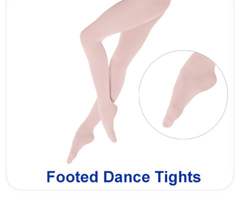 Shop footed dance tights