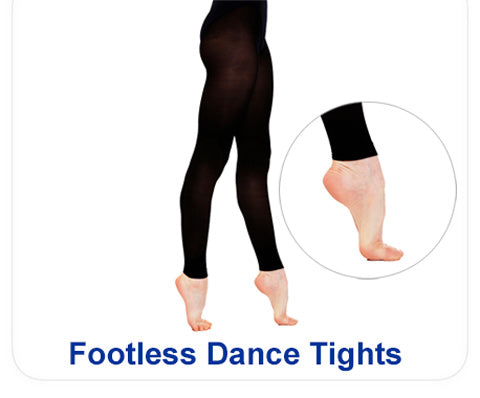 Shop footless dance tights