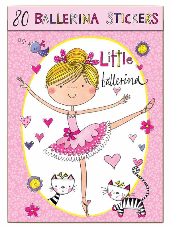 Ballerina Sticker Book