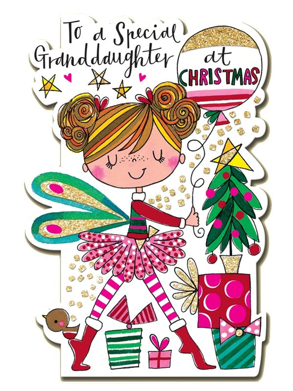 Ballet Christmas Card Granddaughter