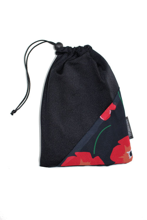 Ballet Skirt Bag By Maewear Black Poppy