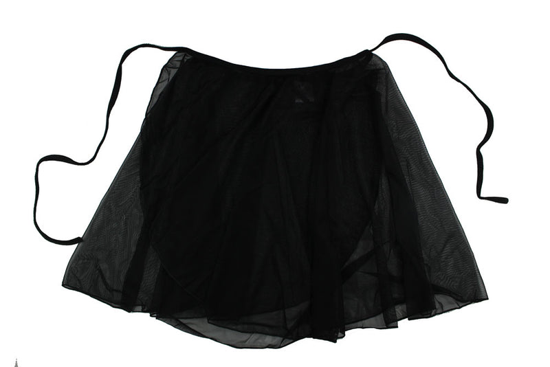Ballet Wrap Skirt By Tendu Black