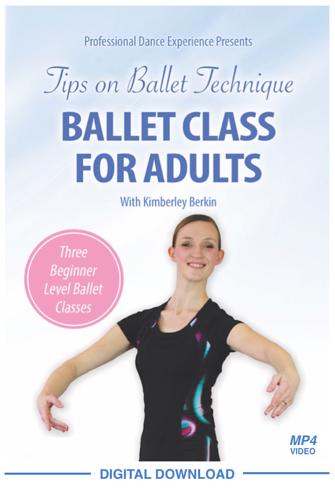 Ballet Class For Adults Video Download