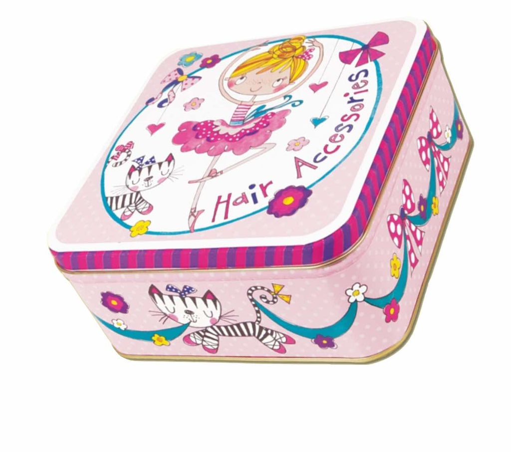 Ballet Bun Kit Tin For Hair Accessories By Rachel Ellen Designs PDE Dance Supplies Online Dance Shop