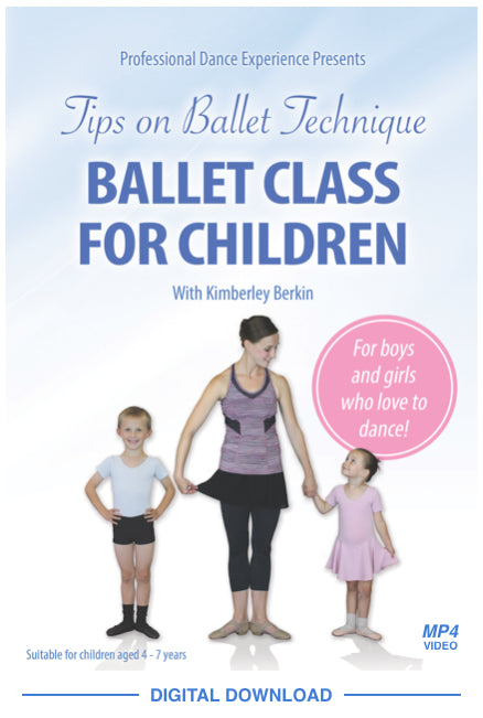 Ballet Class For Children Video Download