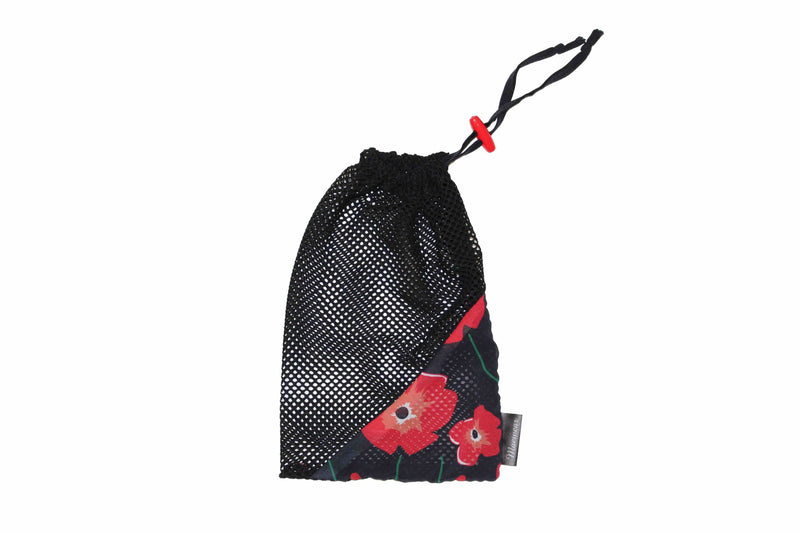 Ballet Shoe Bag Black Poppy