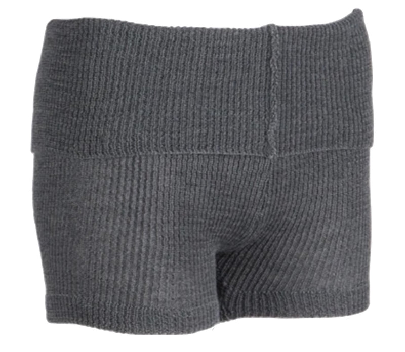 Ballet Warm Up Shorts Charcoal Grey One Size