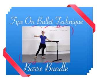 Tips On Ballet Technique Downloadable Videos - Barre bundle by Kimberley Berkin