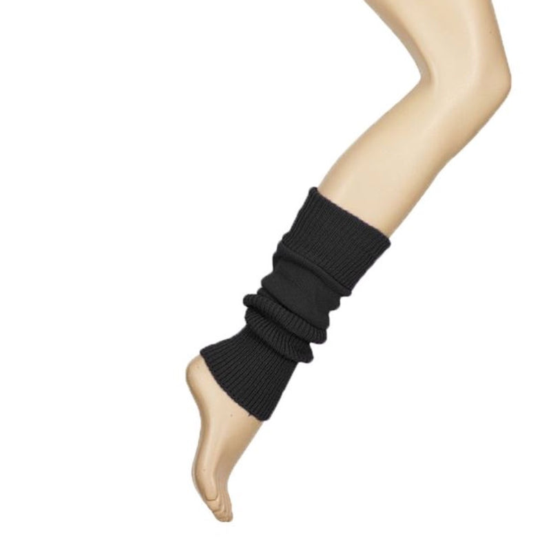 Black Dance Leg Warmers By Starlite 40cm