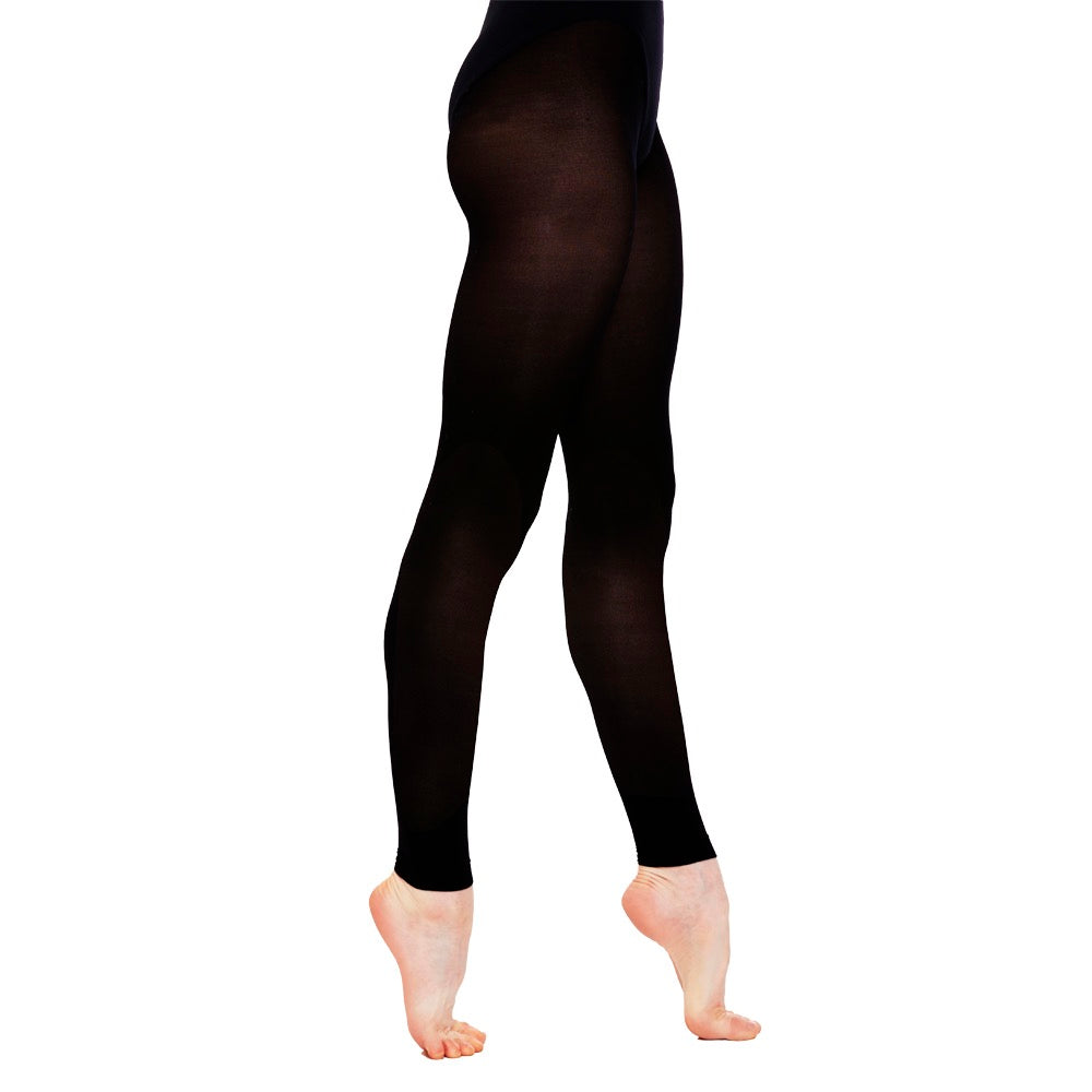 e48921755 Black footless tights for dancers ballet tights dance tights PDE Dance  Supplies.
