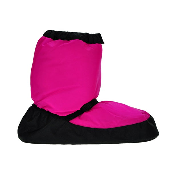 Bloch Warm Up Booties Child Fluorescent Pink
