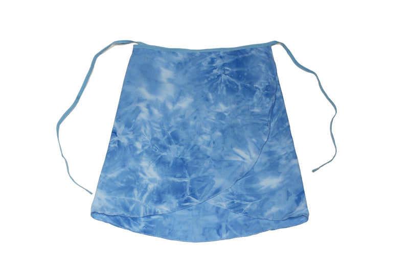 Blue Ballet Wrap Skirt By Maewear Beatrice