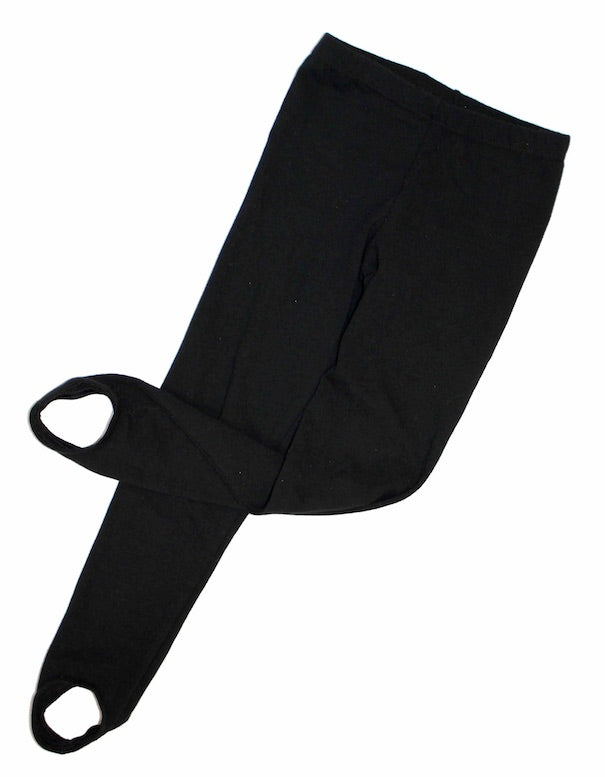 Boys Black Stirrup Tights By Roch Valley PDE Dance Supplies.