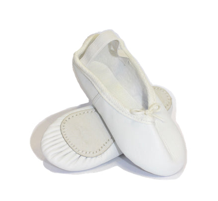 white leather ballet shoes for boys and girls starting ballet size 7 8 9 10 11 12