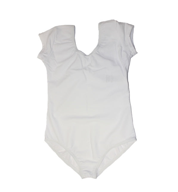 Boys White Ballet Leotard by First Position - Perfect For Boys Dance Classes