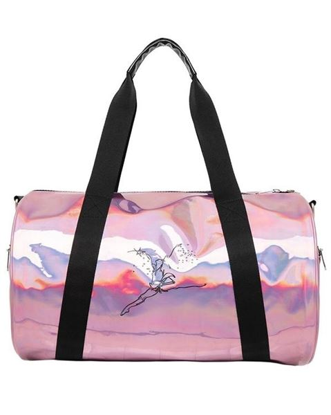 Capezio Dance Bag Holographic Pink Legacy Dance Duffle Bag