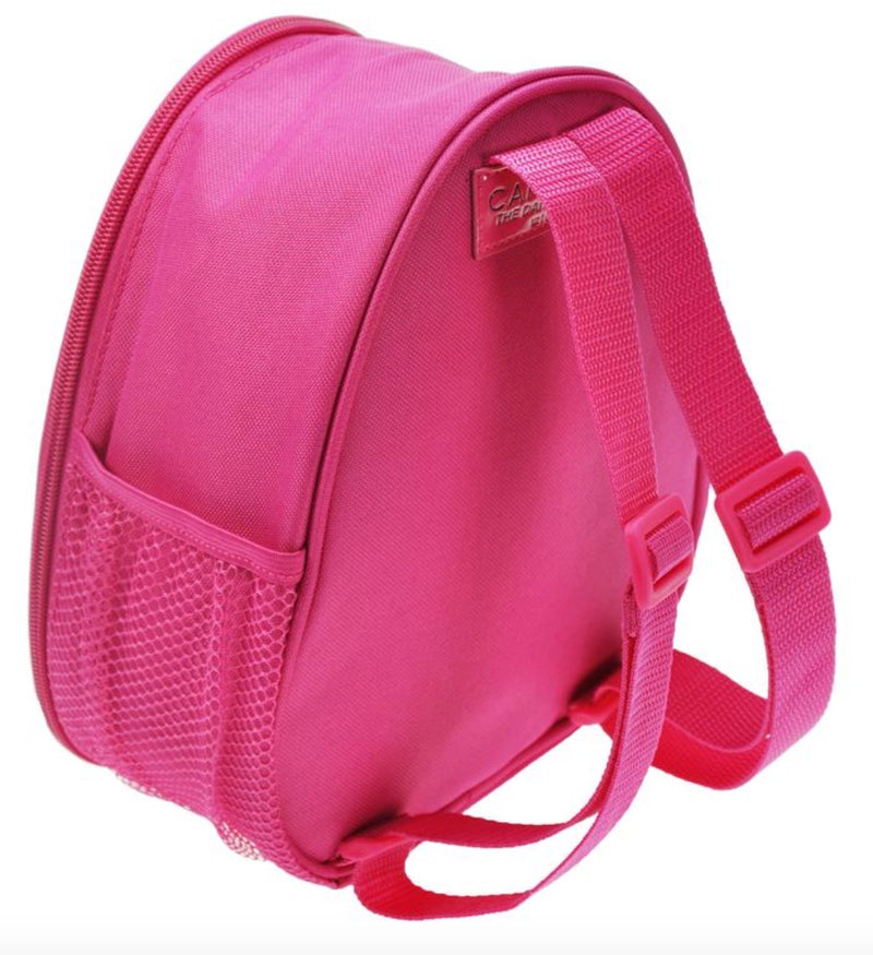 Capezio Reversible Glitter Backpack Pink Back