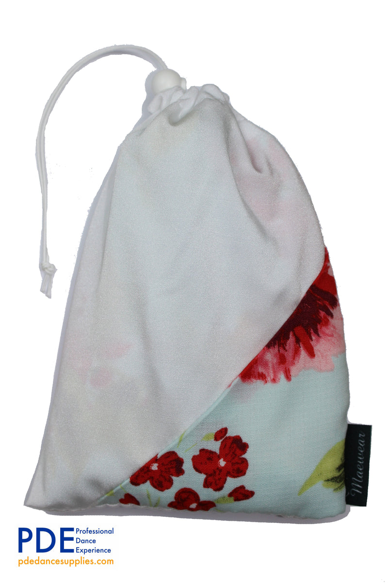 Casablanca Floral Ballet Skirt Bag Classical Ballet Skirts with matching Bags by Maewear at PDE Dance Supplies