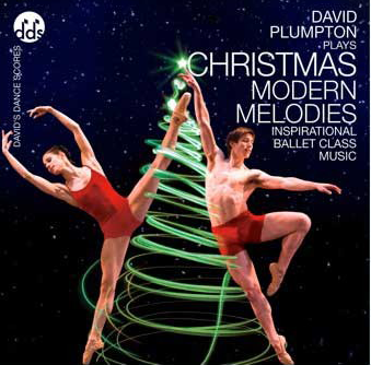 Christmas-Modern-Melodies-CD-by-David-Plumpton-Ballet-Class-Xmas-CDs