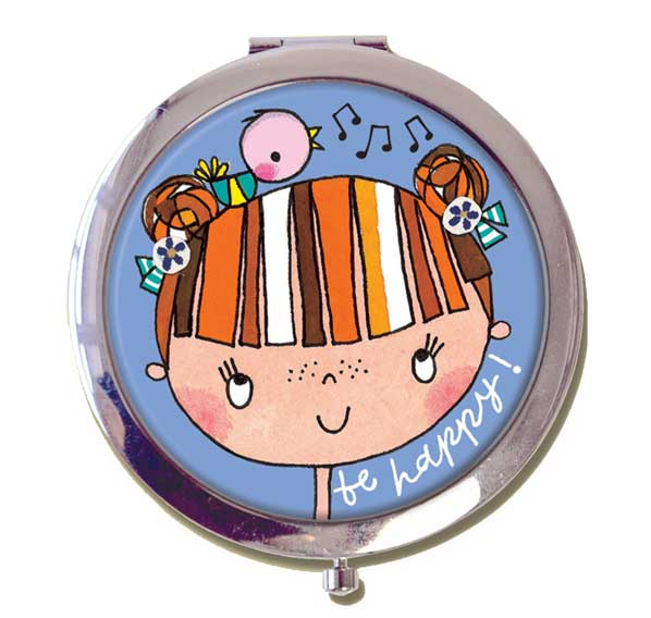 Compact Mirror For Dancers By Rachel Ellen Pocket Dance Mirror