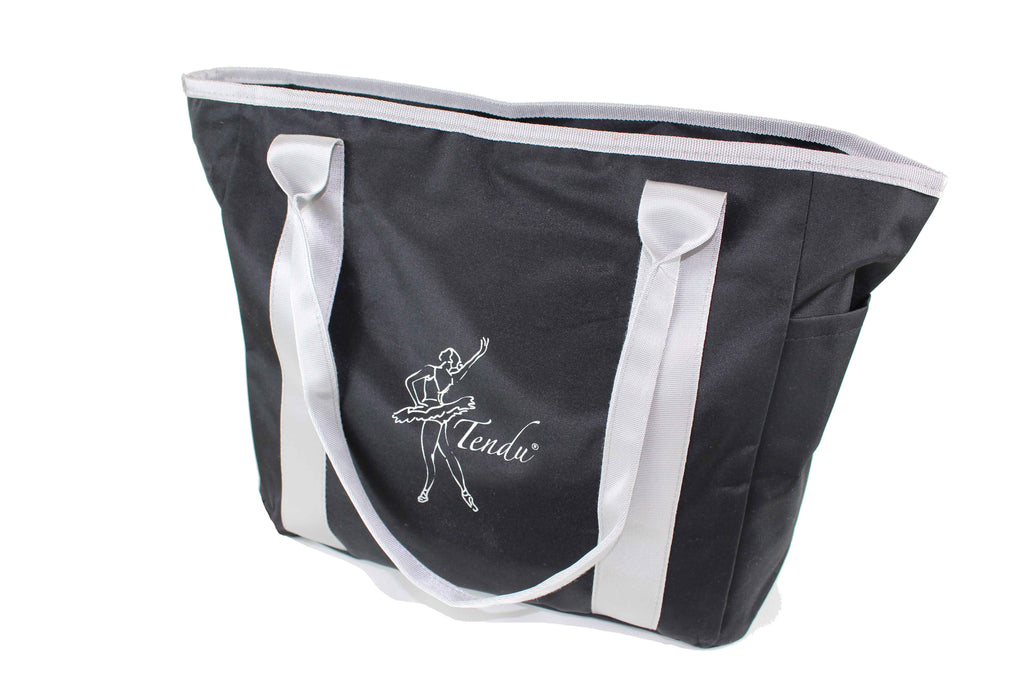 Black Dance Bag by Tendu