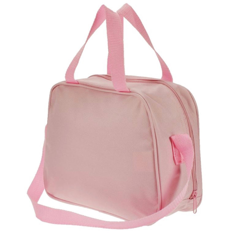 Dance Bag Pink Ballet Shoe Holdall Back