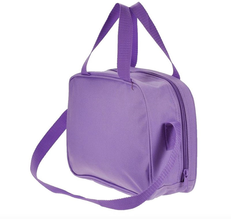 Dance Bag Purple Ballet Shoe Holdall Back