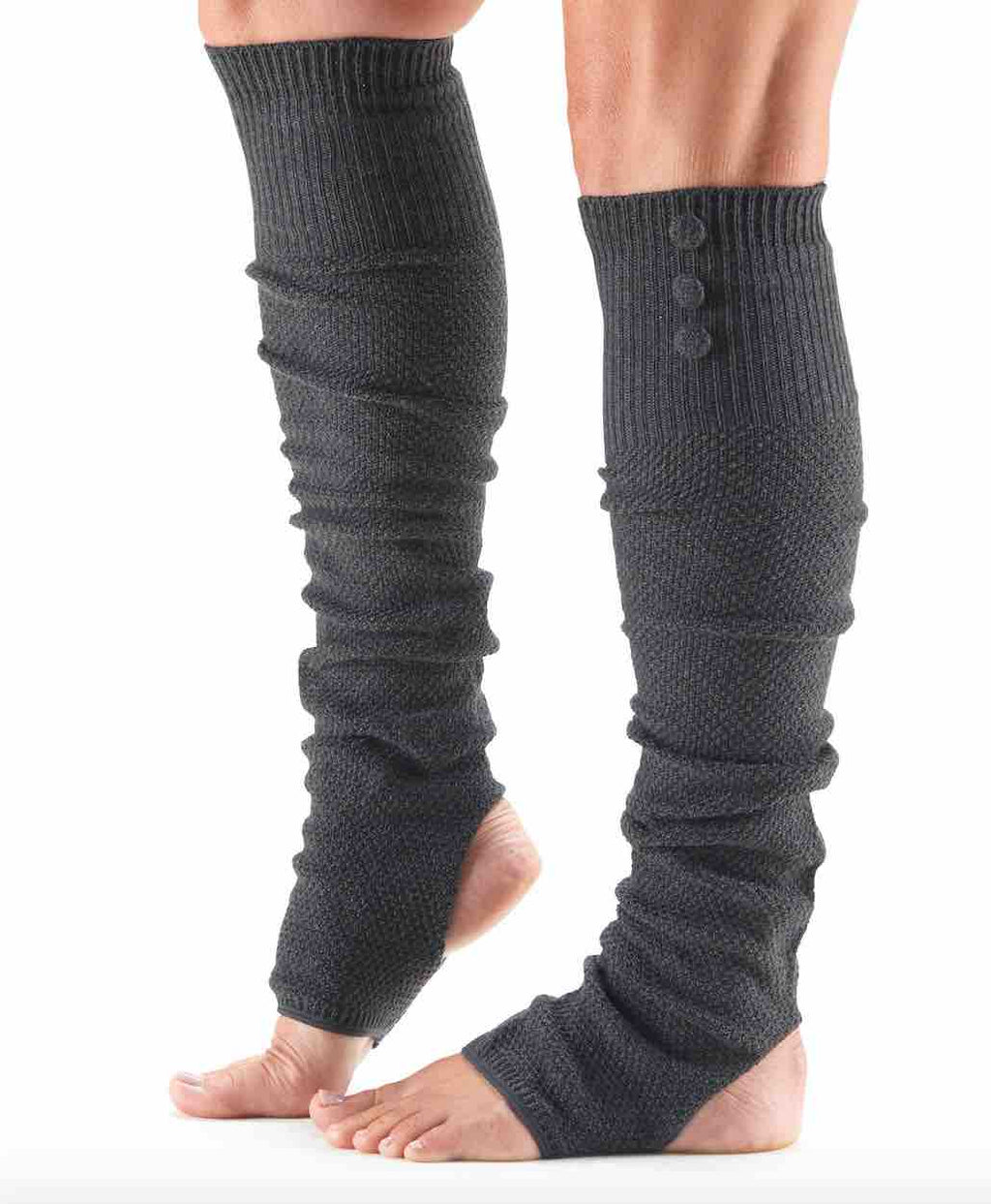 Open Heel Dance Leg Warmers By ToeSox